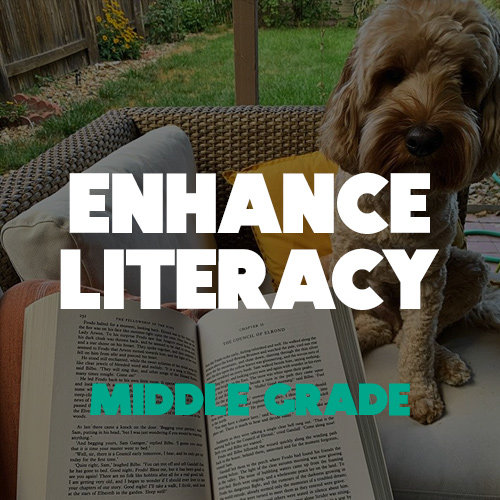 Audiobooks to Enhance Literacy in Middle-Grade Readers