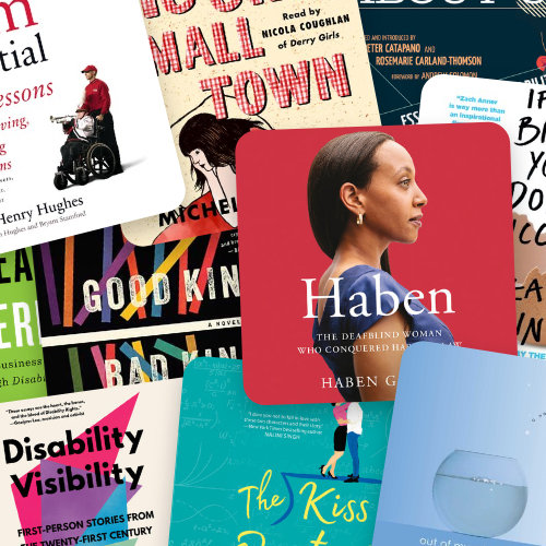 New and Bestselling Audiobooks by Authors with Disabilities