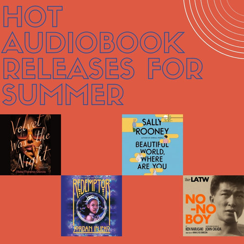 Hot Audiobook Releases for Summer