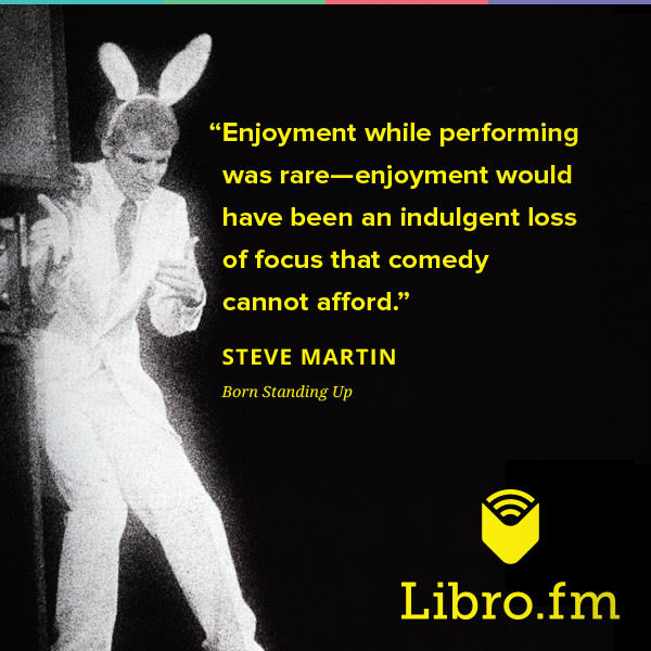 Enjoyment while performing was rare—enjoyment would have been an indulgent loss of focus that comedy cannot afford.