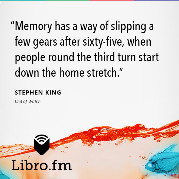 Memory has a way of slipping a few gears after sixty-five, when people round the third turn start down the home stretch.