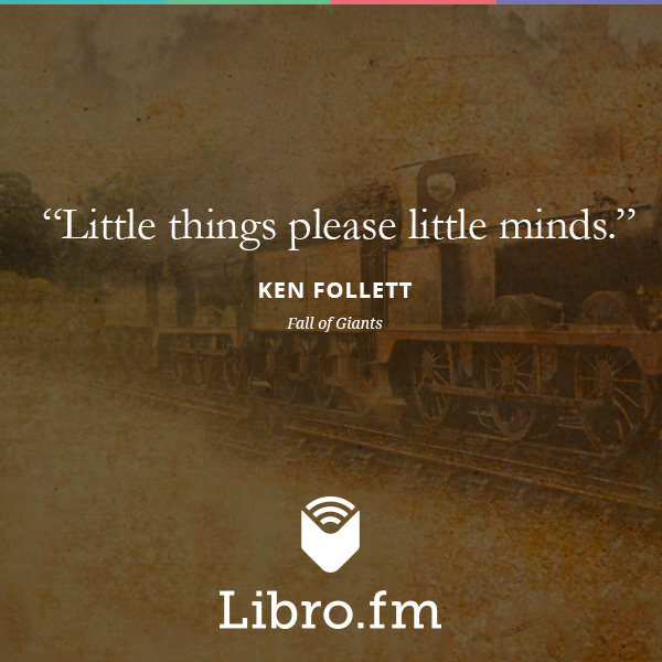 Little things please little minds.