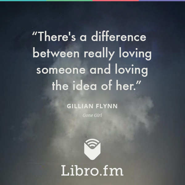 There's a difference between really loving someone and loving the idea of her.