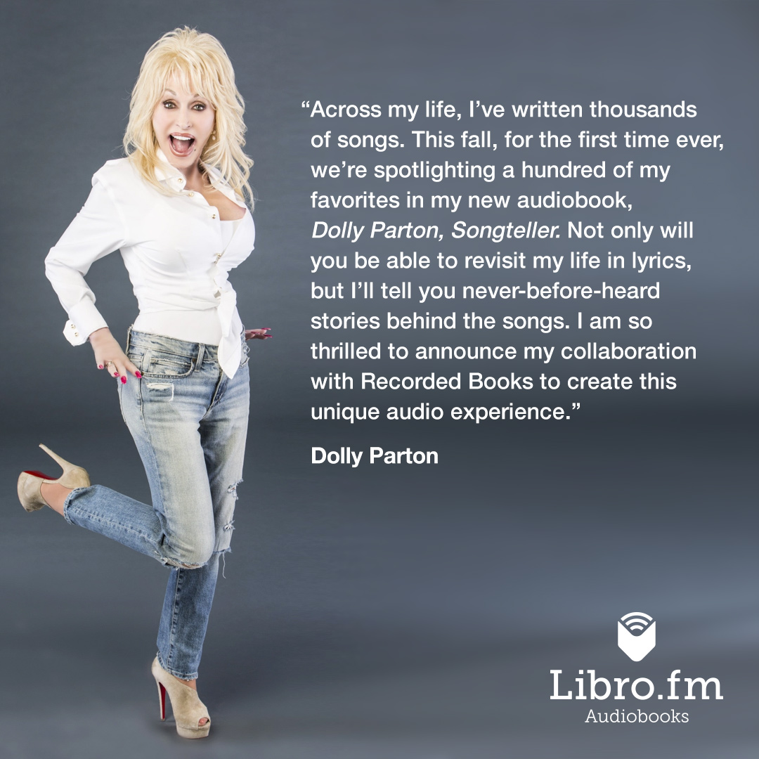Libro Fm Dolly Parton Songteller Featured Audiobook