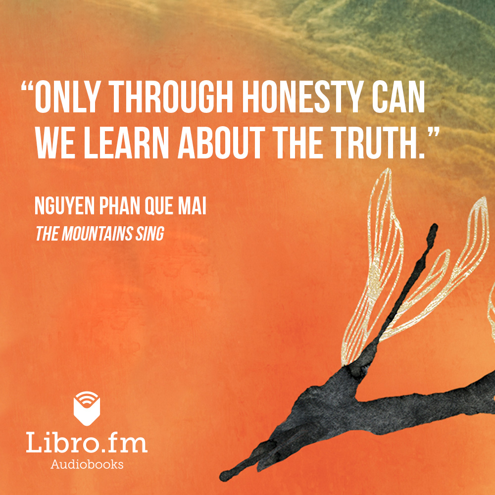 Only through honesty can we learn about the truth.