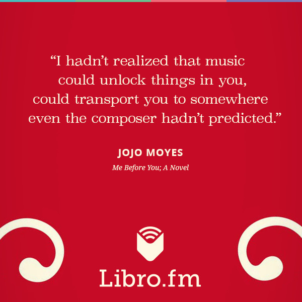 I hadn't realized that music could unlock things in you, could transport you to somewhere even the composer hadn't predicted.