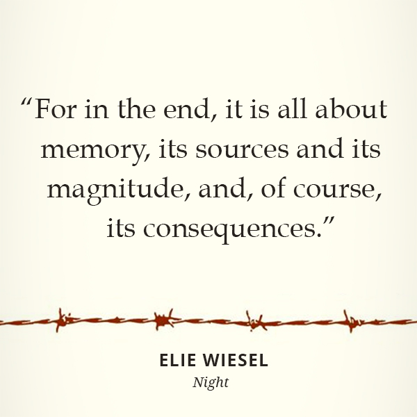 For in the end, it is all about memory, its sources and its magnitude, and, of course, its consequences.