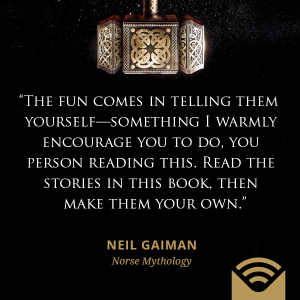 The fun comes in telling them yourself—something I warmly encourage you to do, you person reading this. Read the stories in this book, then make them your own.