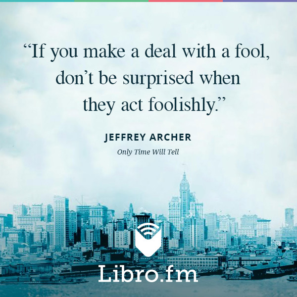 If you make a deal with a fool, don't be surprised when they act foolishly.