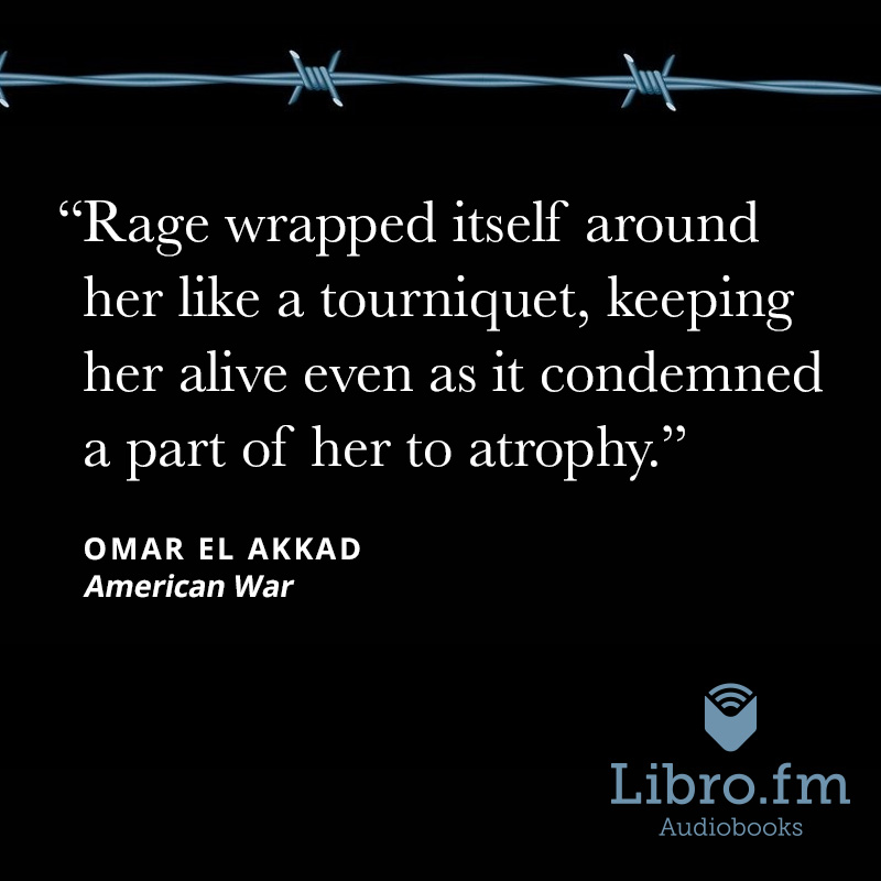 Rage wrapped itself around her like a tourniquet, keeping her alive even as it condemned a part of her to atrophy.