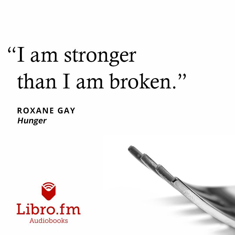 I am stronger than I am broken.