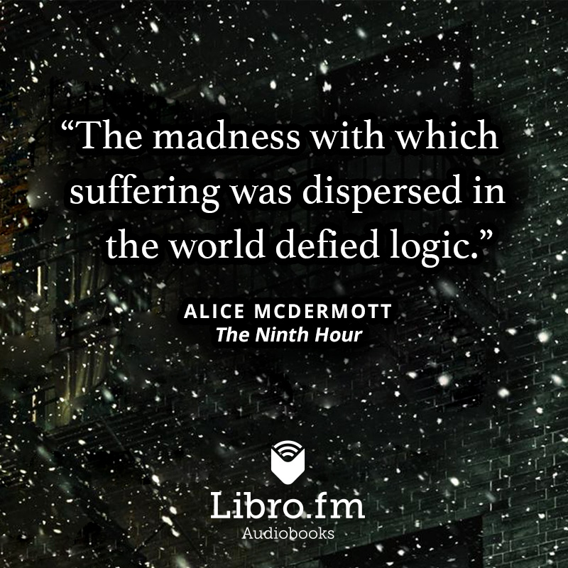 The madness with which suffering was dispersed in the world defied logic.