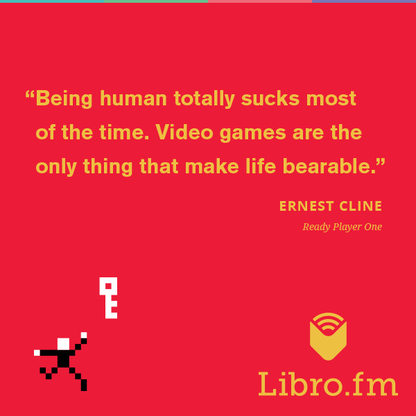 Being human totally sucks most of the time. Video games are the only thing that make life bearable.