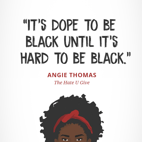 It's dope to be black until it's hard to be black.