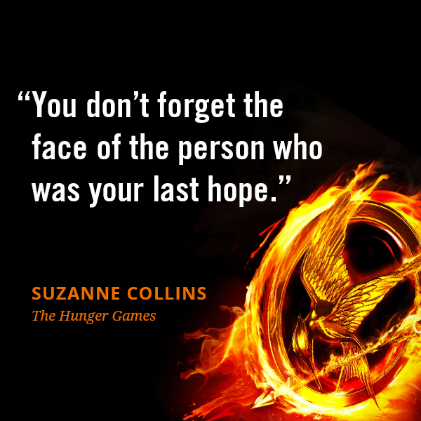 You don't forget the face of the person who was your last hope.