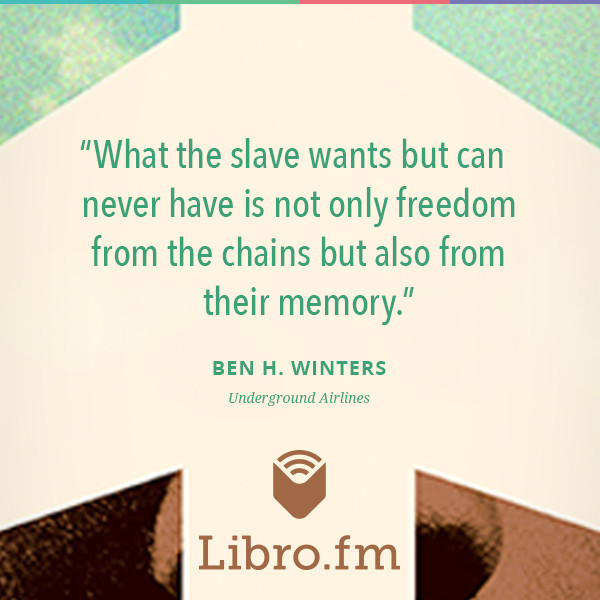 What the slave wants but can never have is not only freedom from the chains but also from their memory.