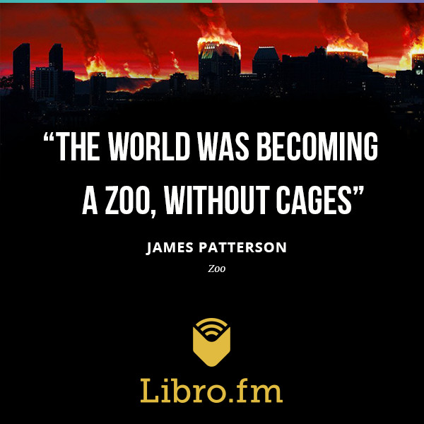 The world was becoming a zoo, without cages