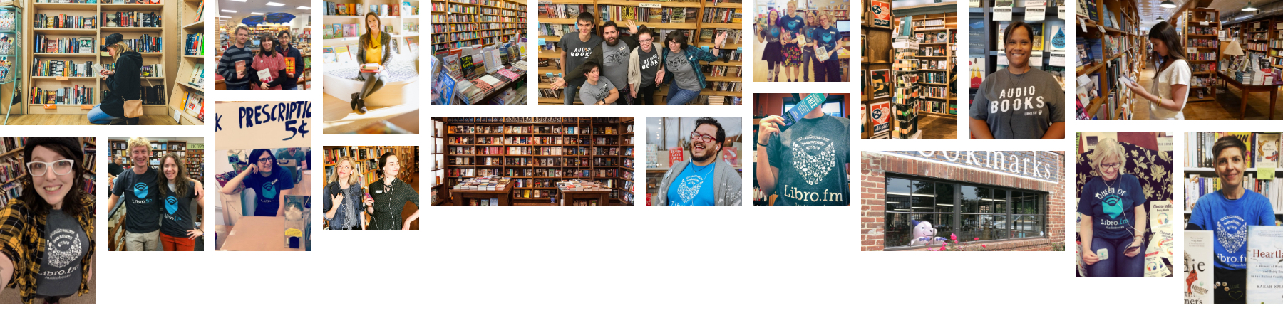 Collage of Booksellers