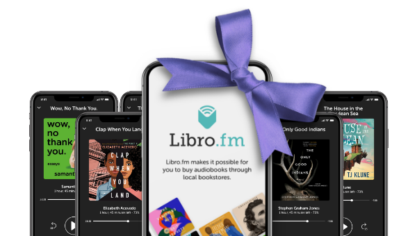 Libro.fm App with bow