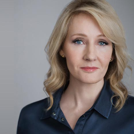 Portrait of J.K. Rowling