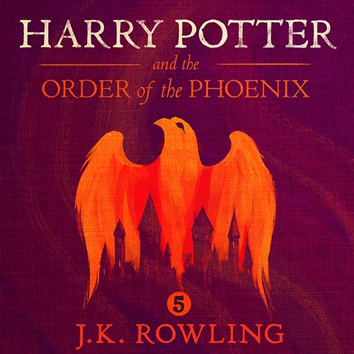 Harry Potter Book Five Cover